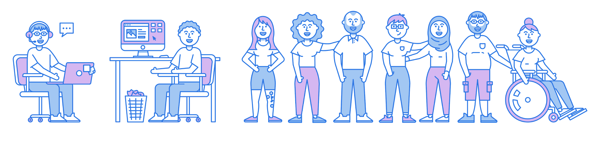 People Illustration Examples