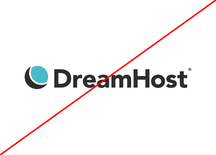 Dreamhost logo - do not change color